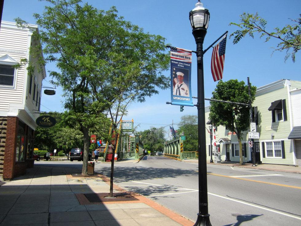 Spencerport, NY. [PHOTO: Ryan Green]