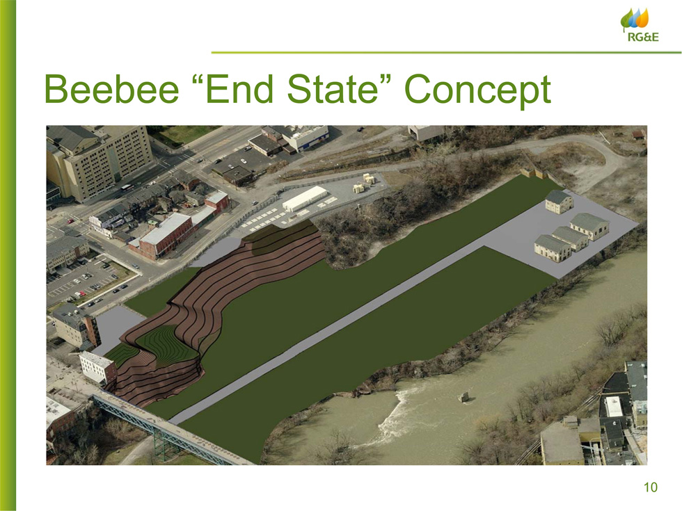 RG&E Beebee Station 'End State' Concept by RG&E