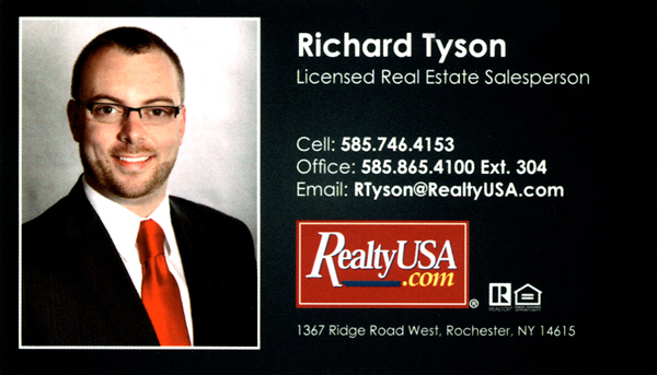Rich Tyson, Realty USA