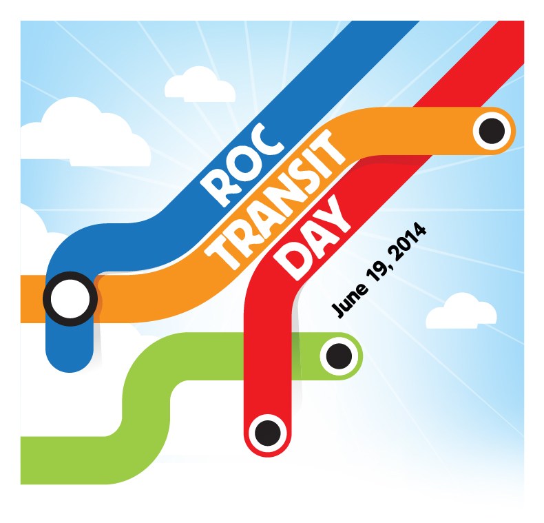ROC Transit Day is a one day event that encourages Rochesterians to go car-free for one day.