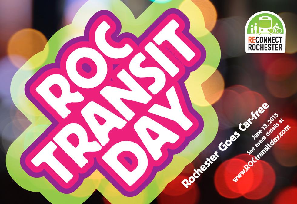 ROC Transit Day is next week!