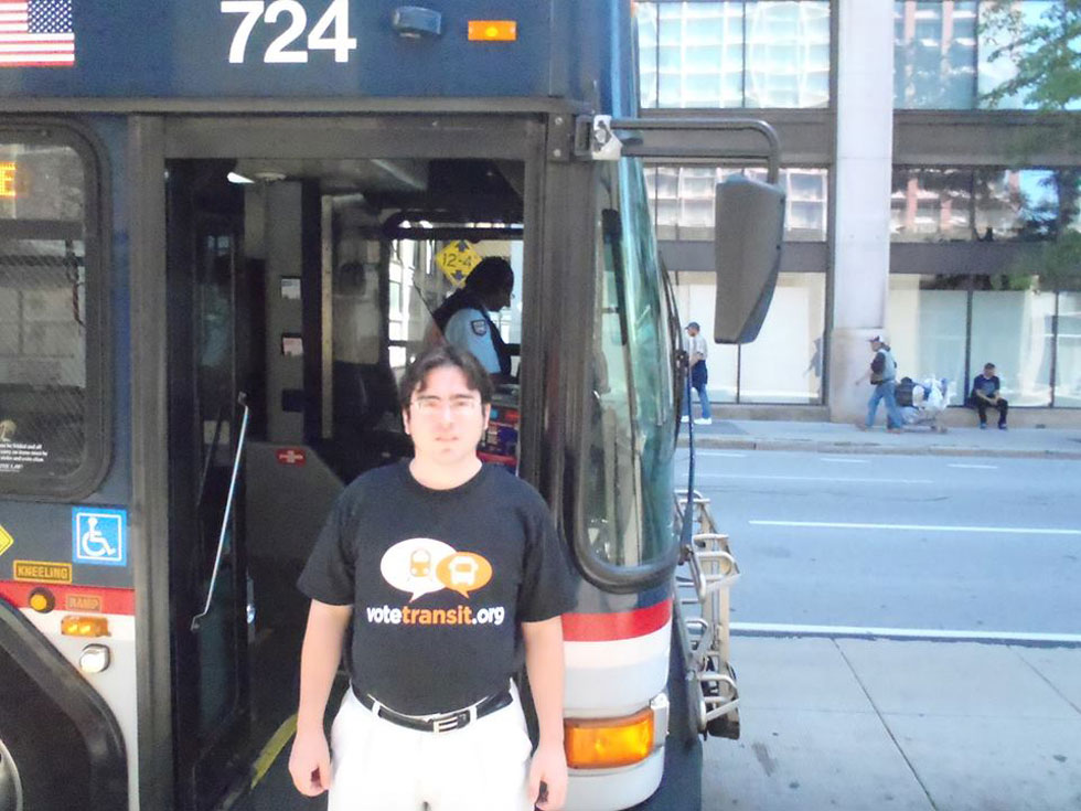 Photo from ROC Transit Day 2013, sent in by Kevin McBride of Binghamton, NY