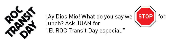 ROC Transit Day Treasure Hunt