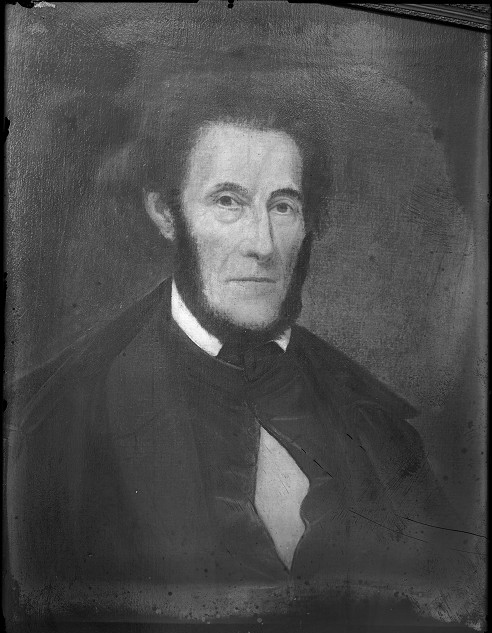 Abelard Reynolds was one of the original residents of Rochesterville, and father of Mortimer Reynolds. [PHOTO: Albert R. Stone]