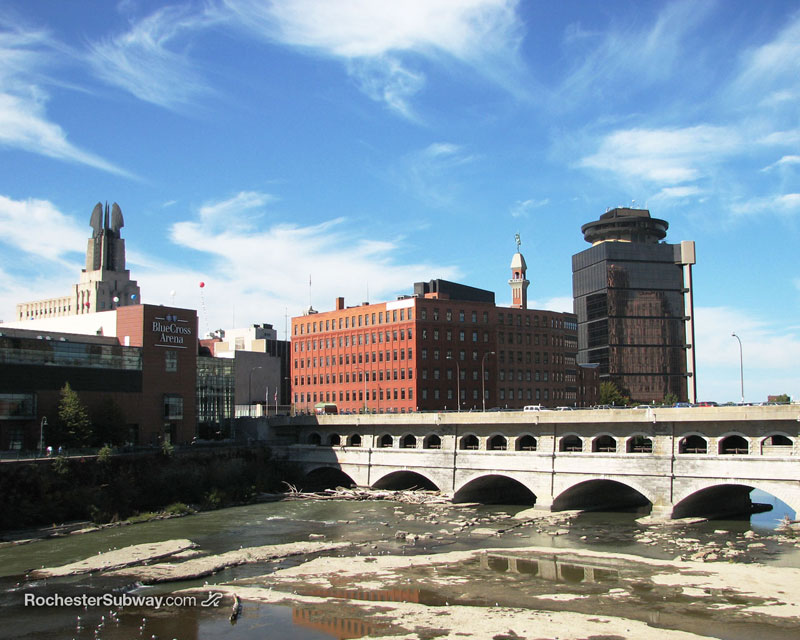 FREE PC Wallpaper: Rochester Broad Street Aqueduct