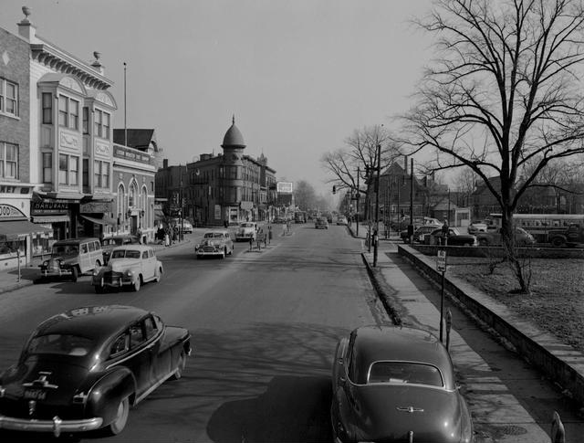 Another view of the neighborhood from 1950. [PHOTO: Rochester Municipal Archives]