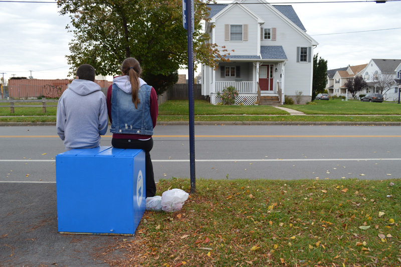 Reconnect Rochester's bus stop cube seats are winning support from the community, including RTS and The Strong Museum of Play.