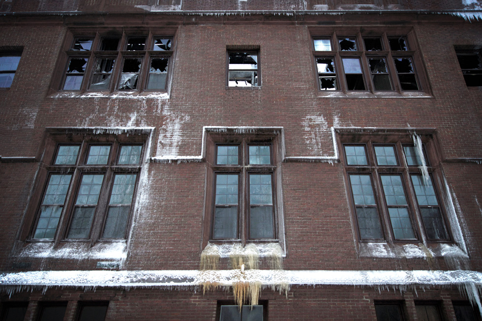 Last week, Carnegie Place was largely destroyed by fire. [PHOTO: PuddleJumper Photography]