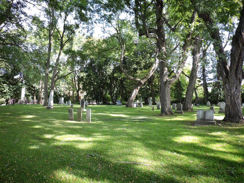 Charlotte Cemetery [PHOTO: Joanne Brokaw]