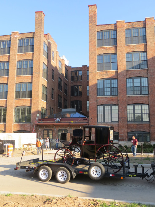 After sitting vacant for 25 years, DePaul Properties is getting ready to re-open the doors of the former Cunningham Carriage Factory as 71 mid-market loft apartments, to be called the DePaul Carriage Factory Apartments.