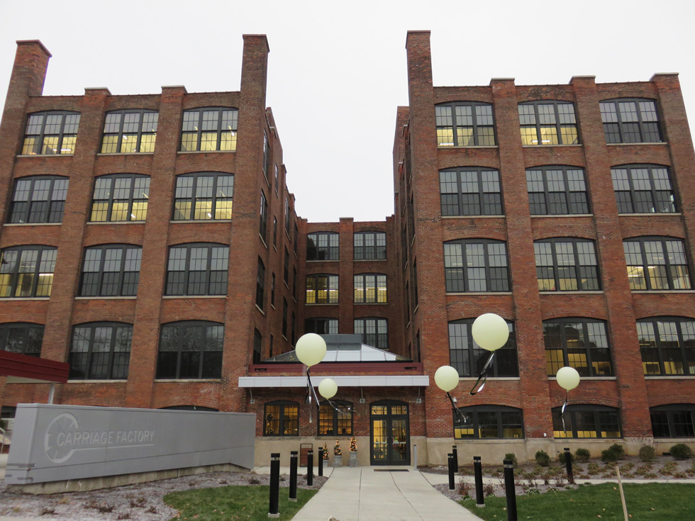 On December 4, 2014 DePaul joined with city, state, public and private partners to celebrate the opening of the Carriage Factory Apartments. [PHOTO PROVIDED BY: Depaul]