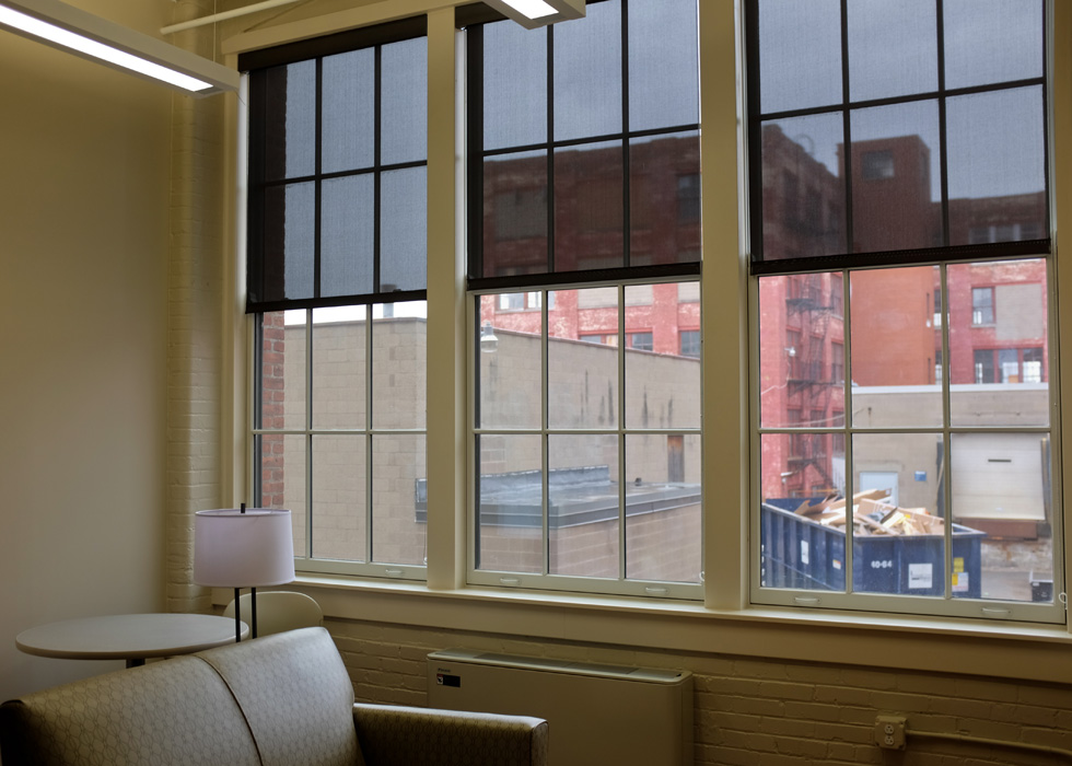 Carriage Factory windows, Rochester NY. [PHOTO PROVIDED BY: Preservation Studios]