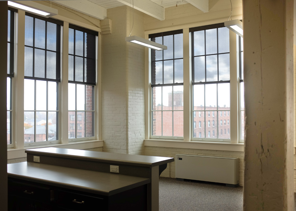 Carriage Factory interior, Rochester NY. [PHOTO PROVIDED BY: Preservation Studios]