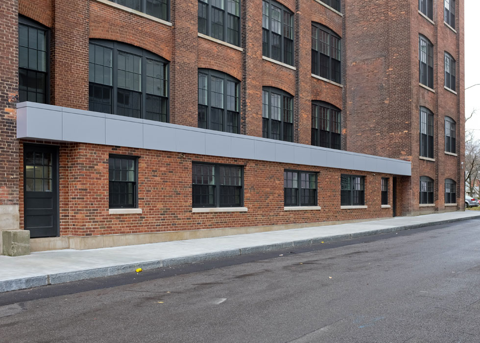 Carriage Factory (north side), Rochester NY. [PHOTO PROVIDED BY: Preservation Studios]