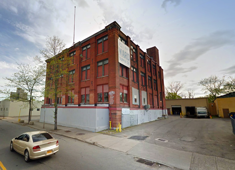 The old Ward Plumbing Supply building at 739 South Clinton Ave. [PHOTO: Google]