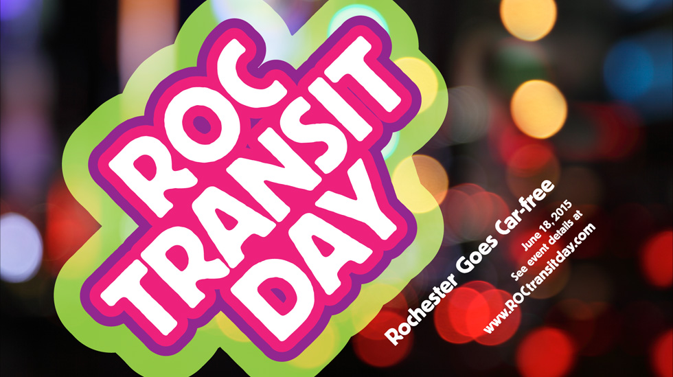 The flash mob will take place on ROC Transit Day – a campaign by Reconnect Rochester that aims to promote public transportation in Rochester and also includes other fun events like a $500 Street Dance Competition. [IMAGE: ReconnectRochester.org]