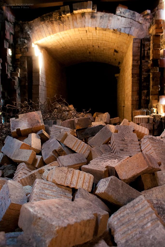 The Garbage Incinerator at High Falls, Rochester. [PHOTO: Brandon Davis]