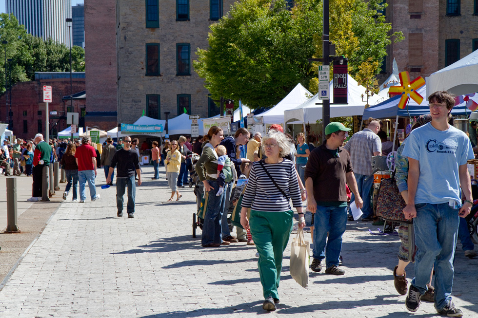 The Greentopia Festival in High Falls, Rochester, NY. [PHOTO: Greentopia]