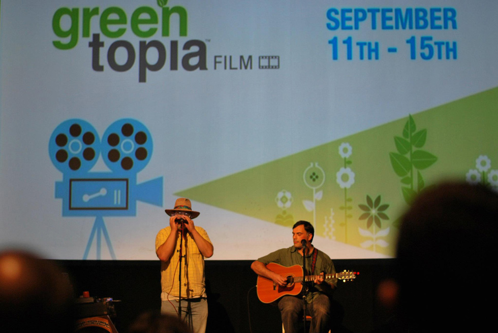 More than a dozen feature-length documentaries and short films will be shown at a creative array of theaters and non-traditional screening sites around the greater Rochester area. [PHOTO: Facebook.com/GreentopiaFILM]