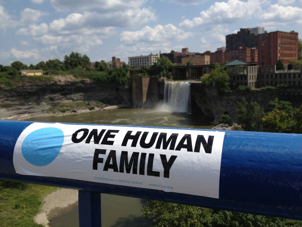 The Greentopia Festival is coming once again to High Falls. Greentopia reminds us that we've only got one planet, and we're all in this together. [PHOTO: Twitter.com/greentopiafest]