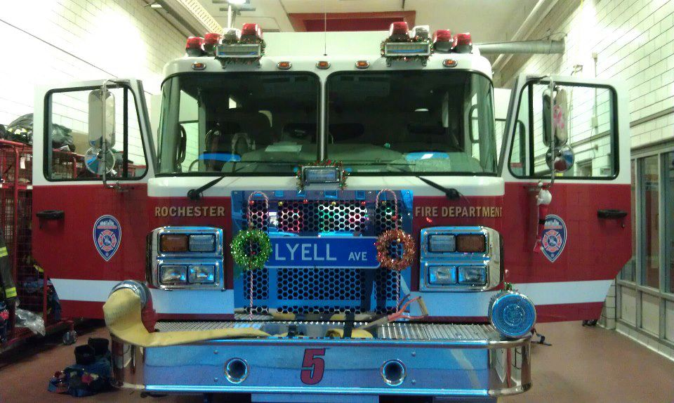Photo submitted by local firefighter John Joseph.