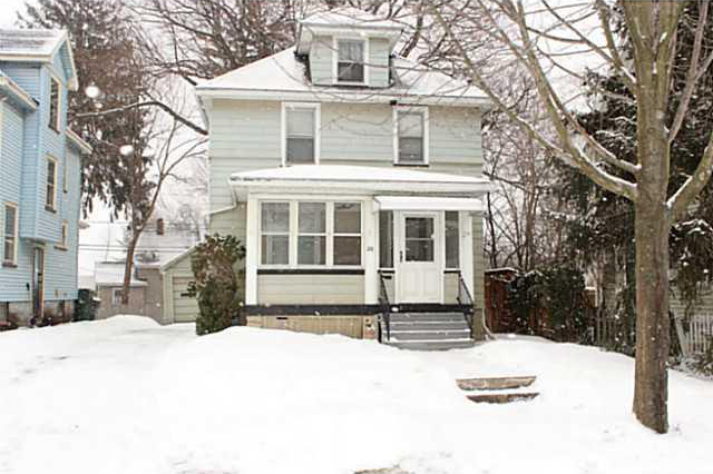 26 Marion Street in North Winton Village. 3 Bedroom, 1.5 Bathroom, Completely Updated Kitchen with tons of charm listed at $99,900. [IMAGE: Realty USA]