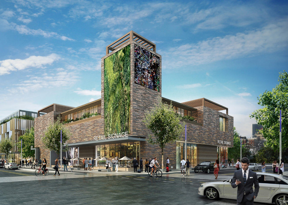 A recent report from Stantec outlines recommendations and suggestions for the redevelopment of Union Street after the Inner Loop is filled. [IMAGE: Philip Michael Brown Studio / City of Rochester]