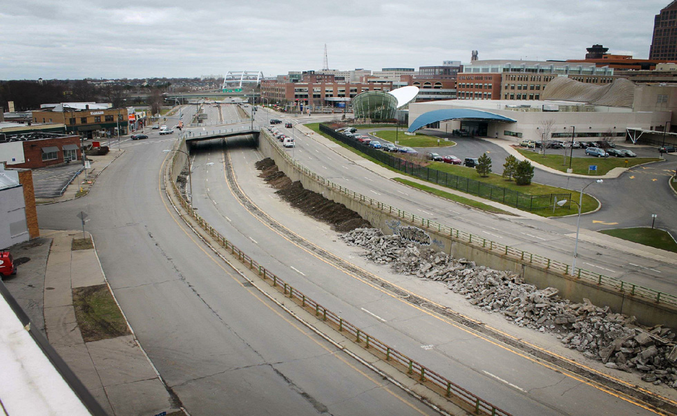 The view from the Inner Loop Fill Cam. [PHOTO: City of Rochester]