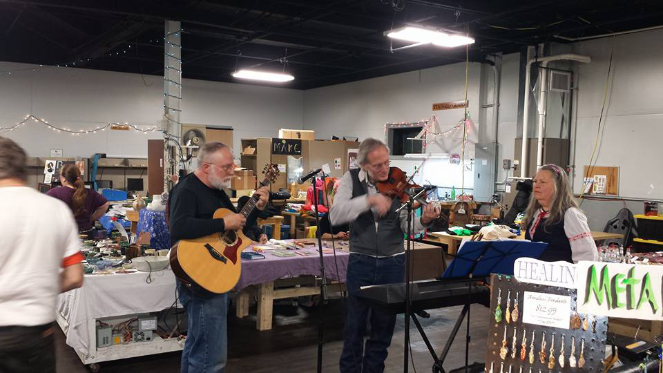 Sunday Artists and Makers Expo at Rochester Maker Space. [IMAGE: Provided]