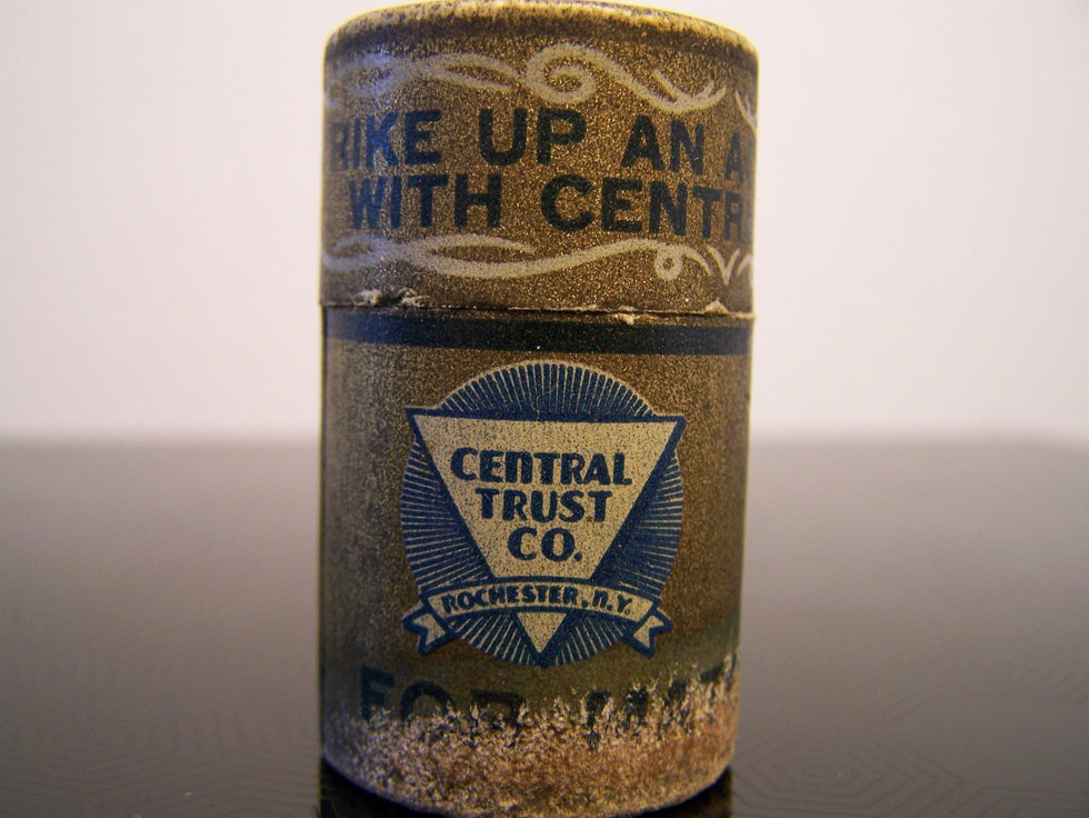 Central Trust Company match stick container.