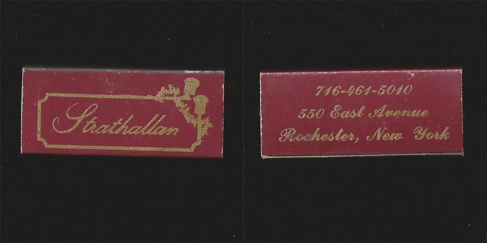 Strathallan matchbox.