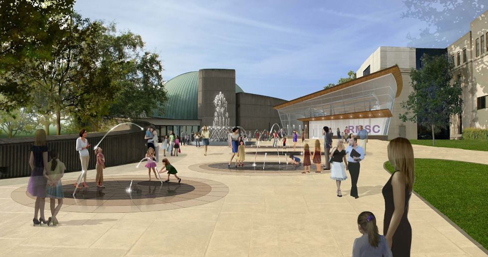 The Rochester Museum and Science Center is planning an expansion to link the main museum building on East Avenue with the Strasenburgh Planetarium next door.