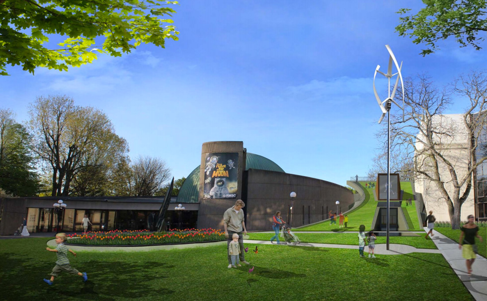 Rochester Museum and Science Center expansion. Concept by SWBR Architects.
