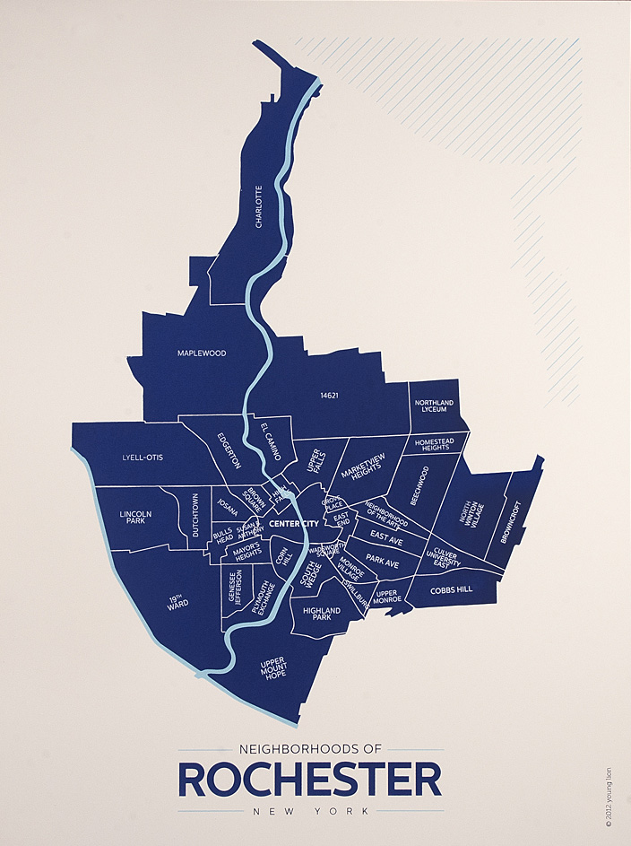 Neighborhoods of Rochester, New York [BY: Tanya and Jason of YoungLionRochester.com]