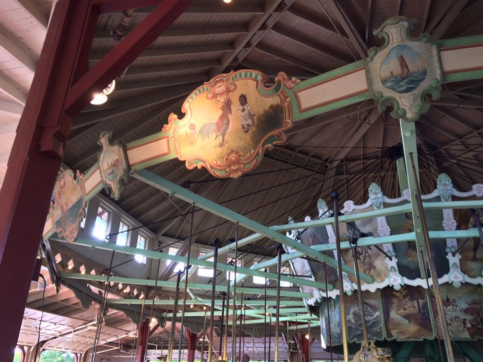 Dentzel carousel at Ontario Beach Park. Rochester, NY. [IMAGE: RochesterSubway.com]