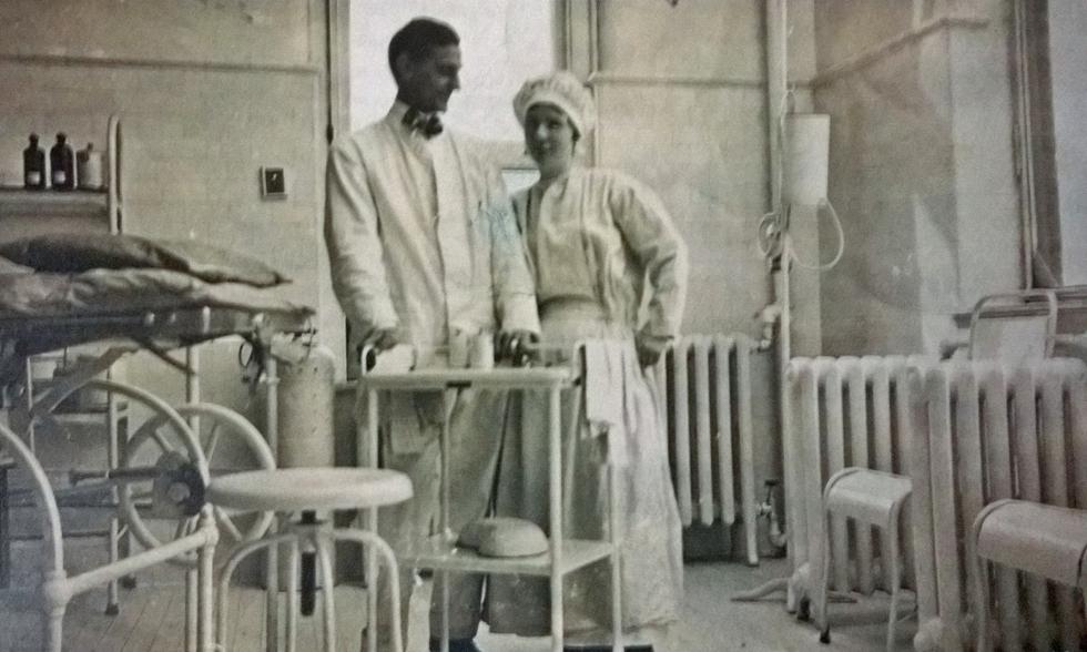Katherine Fitzgerald Osborn, a nurse at Rochester's Park Avenue Hospital. [PHOTO COURTESY OF: John Zicari]