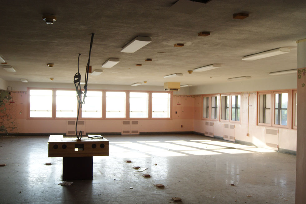 Inside Terrence Tower - Rochester Psychiatric Center.