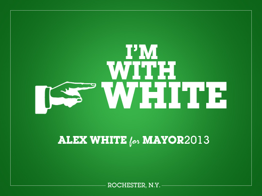 Comments from people voting for Alex White for Mayor of Rochester.