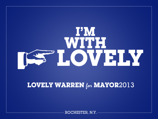 Comments from people voting for Lovely Warren for Mayor of Rochester.