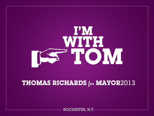 Comments from people voting for Tom Richards for Mayor of Rochester.