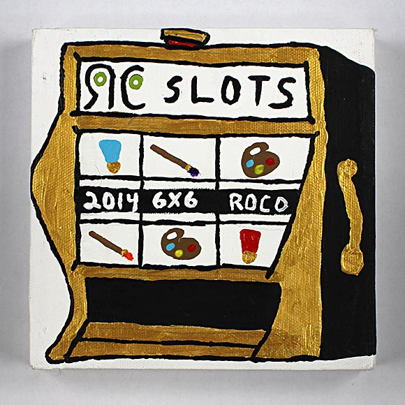 Don't miss this year's 6x6 Art Show at Rochester Contemporary Art Center!