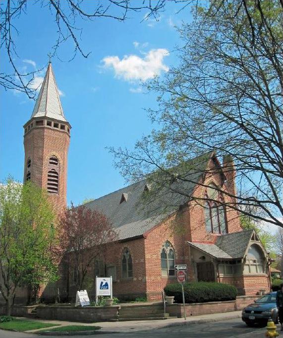 Calvary St. Andrew's Presbyterian Church at the corner of Averill and Ashland St, Rochester NY. [PHOTO: Provided]