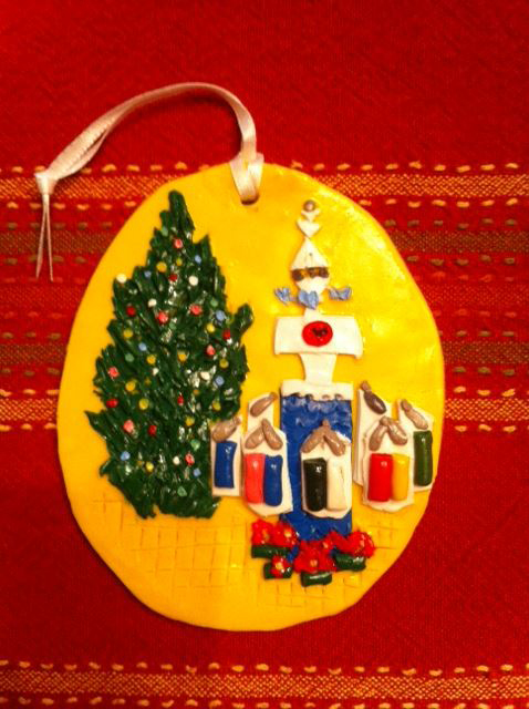 This holiday, why not give the gift of Sculpey... Rochester landmark ornaments by local artist Kimberly DiPietro.