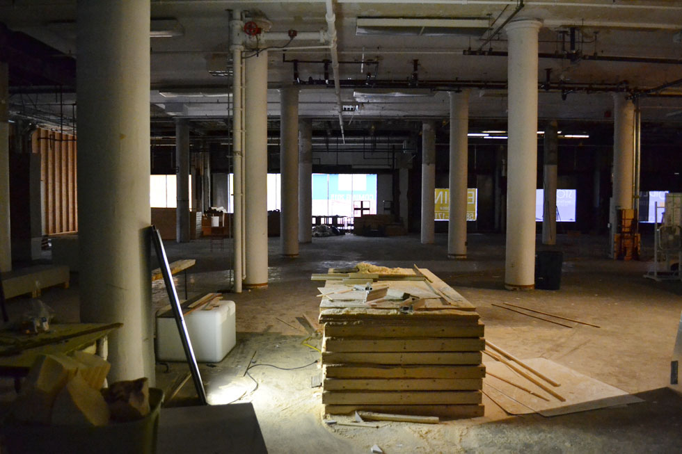 Inside the Sibley building. [PHOTO: RochesterSubway.com]