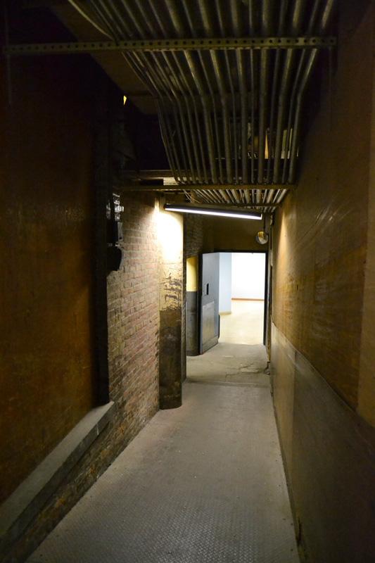 Hallway to Sibley building loading docks. [PHOTO: RochesterSubway.com]