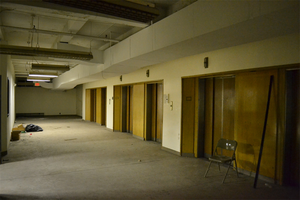 Sibley's basement. [PHOTO: RochesterSubway.com]