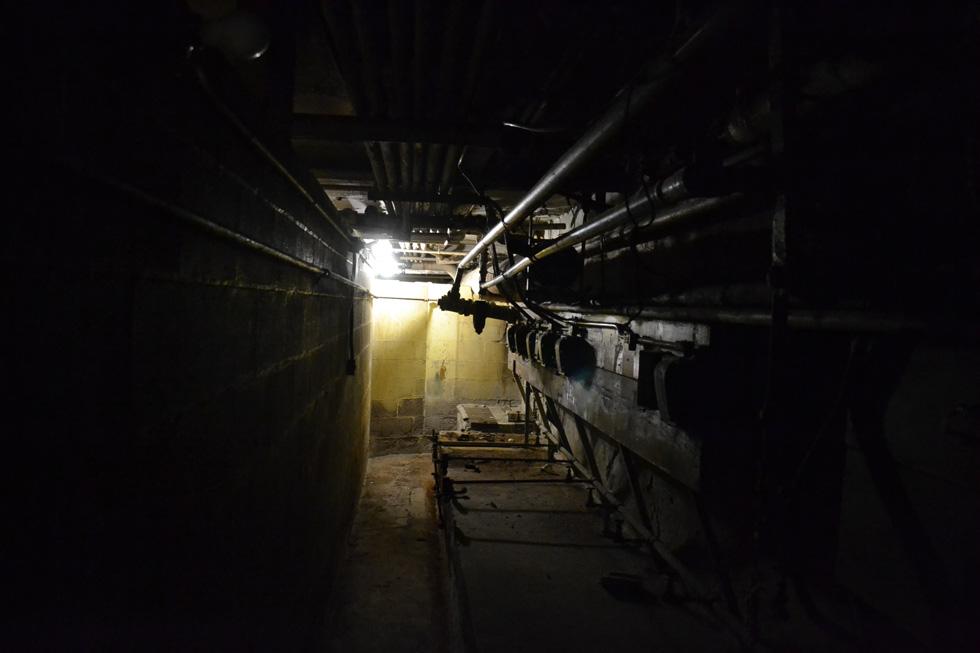Sibley sub-basement. [PHOTO: RochesterSubway.com]
