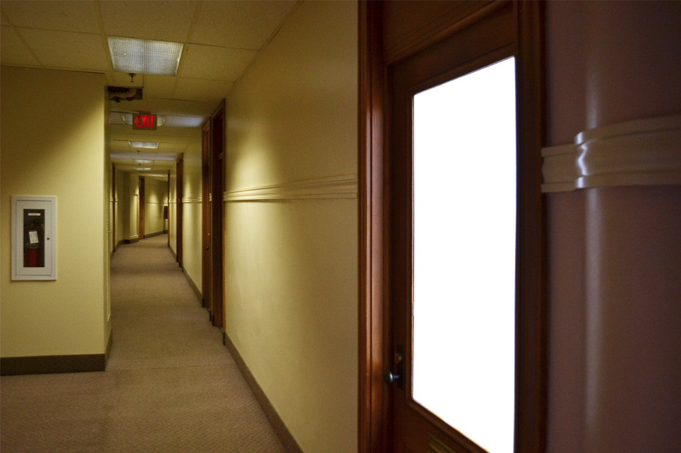 The 11th floor of Sibley Tower. [PHOTO: RochesterSubway.com]