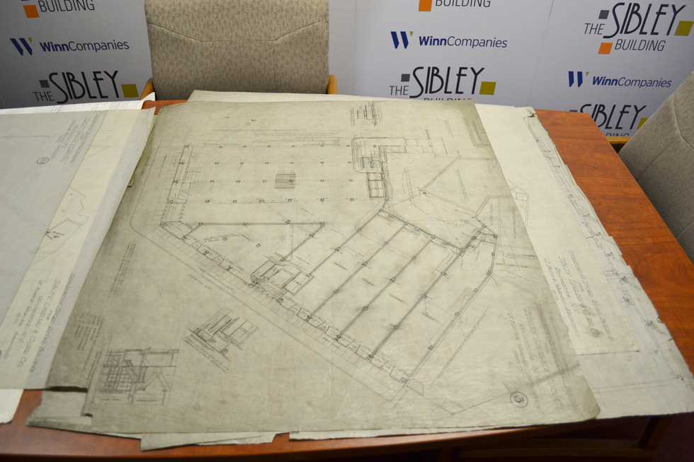 These are the original original plans (from 1910). They are printed on silk. [PHOTO: RochesterSubway.com]