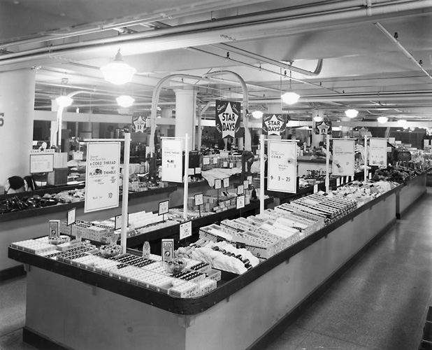 Sibley's department store, 1940. [PHOTO: Rochester Public Library]